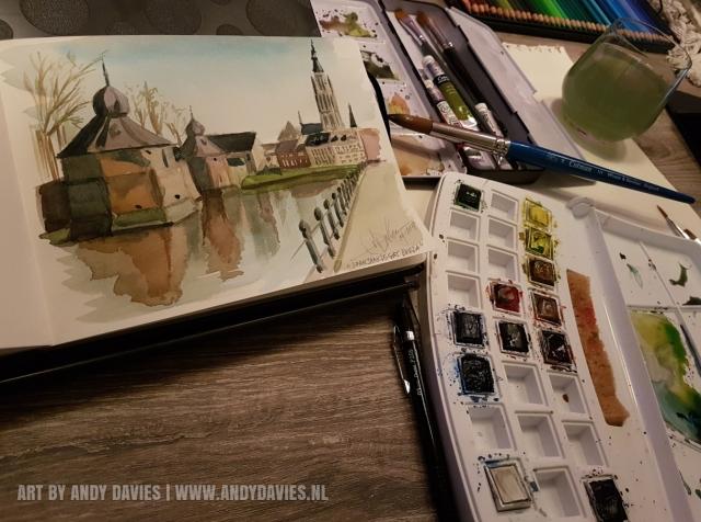 Spanjaardsgat Breda by Andy Davies